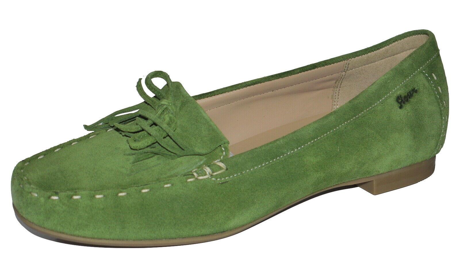 Sioux zibja vert Gazon chaussures en daim