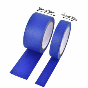 25mm-50mm-30m-Blue-Painter-Tape-Paper-Adhesive-House-Painting-Peeling-Peel-T-BLY