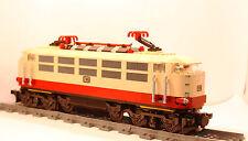 Custom BR103 Lok aus LEGO® Lok Eisenbahn Zug IC TEE Rheingold Intercity Train