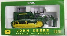 ERTL John Deere 1010 PLOW CITY Crawler with Ripper 1/16 Scale 2002