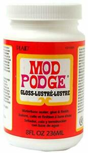 Mod Podge Waterbase Sealer, Glue and Finish (8-Ounce ...