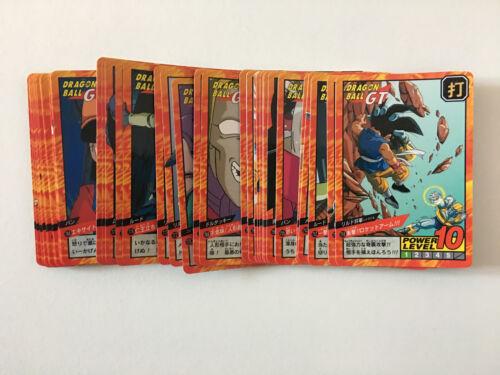 Dragon Ball GT Super Battle Power Level PART 18 Reg Set 38//38