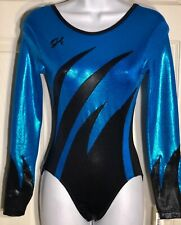 NWT Axis GymnasticTank Leotard Tri Color Foil Teal or Purple Ladies//Girls 97047