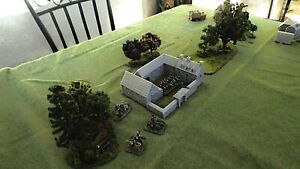 Bâtiments pour Décors 6mm à 15mm Napoléonnien-Médieval-Blucher-Bataille Empire