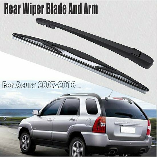 Rear Windshield Window Wiper Blade Arm Set For Acura RDX