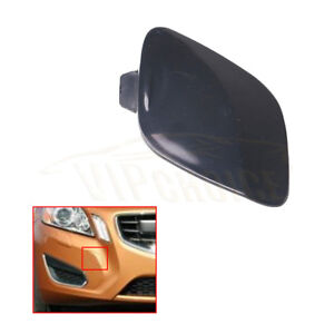 For-2011-2013-VOLVO-S6-New-Primed-Front-Bumper-Tow-Hook-Eye-Cover-Lid-39802519