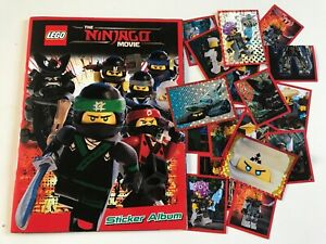 Lego-Ninjago-Movie-Sticker-Album-amp-Stickers-Bundle-Very-Good-Condition