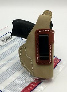 Cebeci-IWB-amp-OWB-Brown-Suede-Holster-Fits-Walther-PP-PPK-Sig-P232-Right-RH
