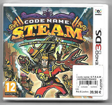 CODE NAME S.T.E.A.M Neuf sous blister Jeu Nintendo 3DS