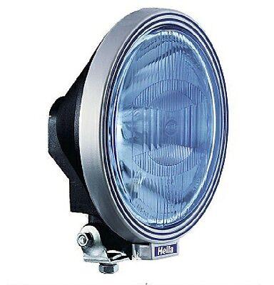 HELLA RALLYE 3000 BLUE HALOGEN SPOT DRIVING LAMP W SIDE LIGHT RALLY 4 X 4 TRUCK