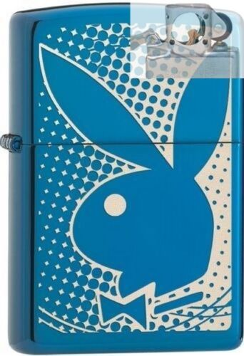 Zippo 29064 playboy bunny logo Lighter with PIPE INSERT PL