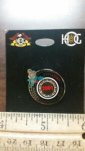 NEW-Harley-Davidson-HOG-Club-Pin-2001-CHRISTMAS-Pin-Original-Unopened-Package