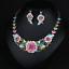 Fashion-Wedding-Caystal-Rhinestone-Choker-Bib-Necklace-Statement-Bridal-Jewelry thumbnail 64