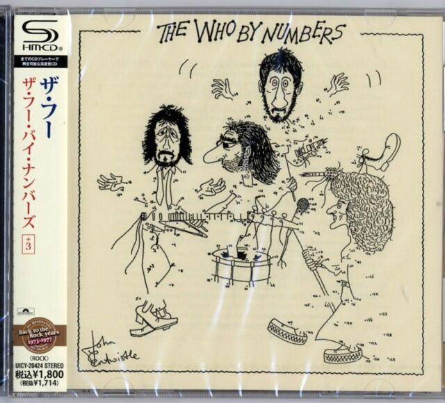 THE WHO-THE WHO BY NUMBERS +3-JAPAN SHM-CD D50