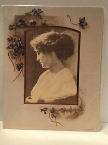 Parchment Frame Victorian Greetings Vintage Portrait Frame Scrapbook