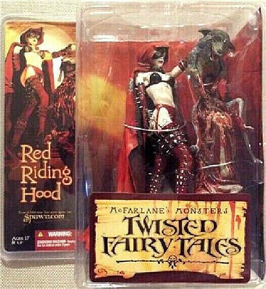 Twisted Fairy Tales rot RIDING HOOD figura PVC 16cm McFarlane