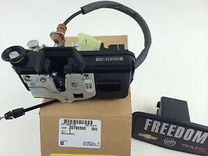 Gm 20790500 2006 2011 impala right rear door latch lock for 08 chevy impala door lock actuator