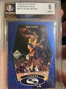 1998 Upper Deck NBA Starquest Kobe Bryant #SQ13 Beckett 8 NMT