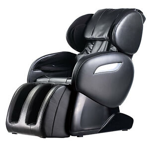 New Electric Full Body Shiatsu Massage Chair Foot Roller Zero Gravity w Heat 55
