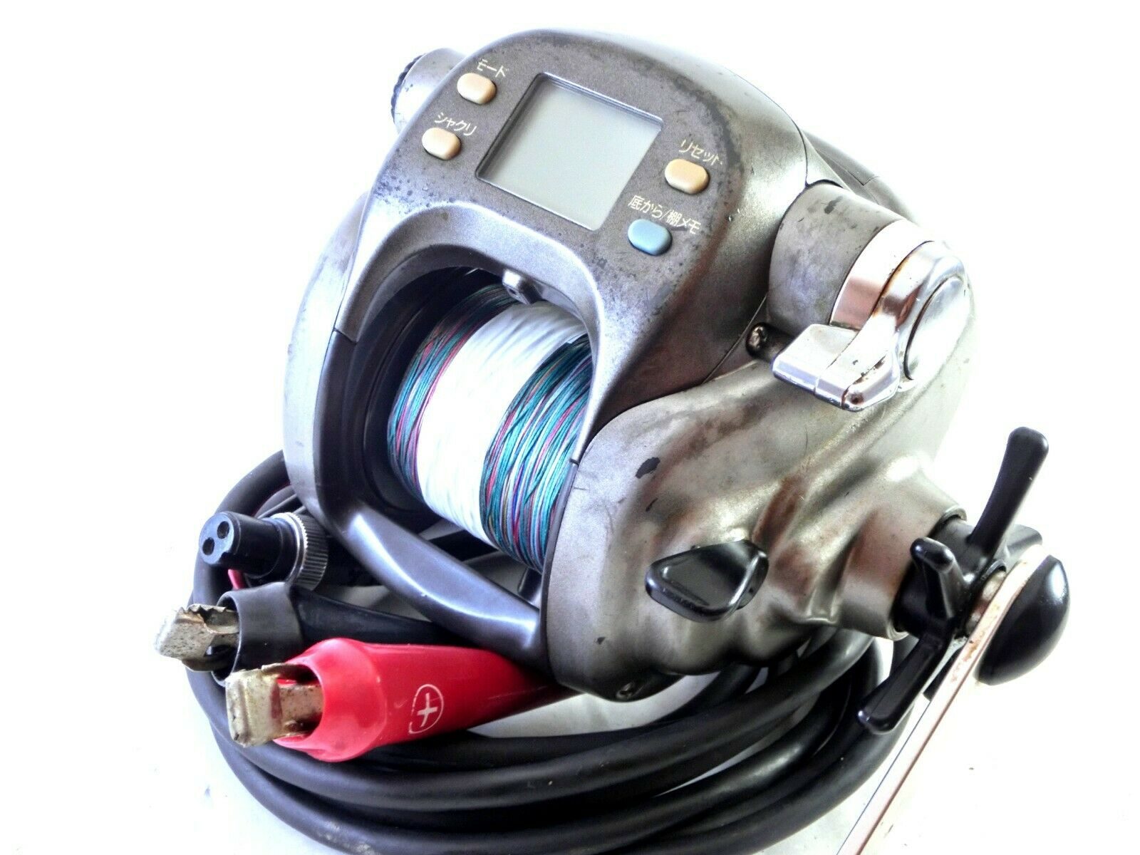 Daiwa Tanacom Bull S600W 45kg +Electric reel +Used PE line,English manual Good