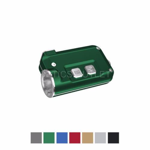 NITECORE TINI 380 Lumens Mini Metallic USB Rechargeable Keychain Light Green