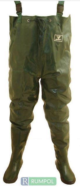 PVC/Nylon Pantaloni Impermeabili Watt Pantaloni PVC/Nylon Angel Pantaloni watstiefel Stivali laghetto Pantaloni 290212-43 805207
