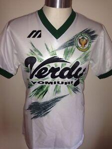 Vintage-Mizuno-Yomiuri-Nippon-Verdy-Football-Shirt-Soccer-Jersey-Size-M-Trikot