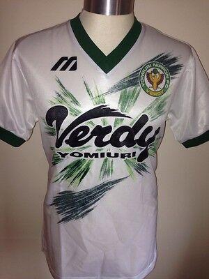 Vintage Mizuno Yomiuri Nippon Verdy Football Shirt Soccer Jersey Size M Trikot
