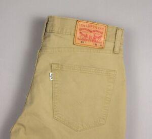 Levi's Strauss & Co Hommes 511 Extensible Slim Jeans Décontracté Taille W32 L26