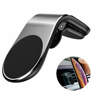 Magnetic Car Mount Car Phone Holder Stand Air Vent For iPhone Android Samsung