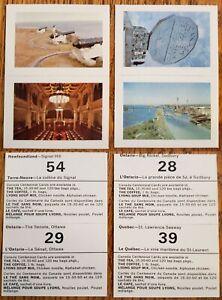 J-Lyons-Canadian-Centennial-Celebrations-of-1967-2-Scarce-2X-Tea-Card-Strips