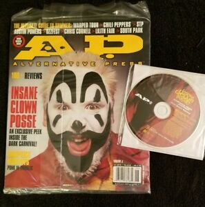Insane-Clown-Posse-A-P-Magazine-w-Dirt-Ball-CD-rare-dark-lotus-twiztid-icp