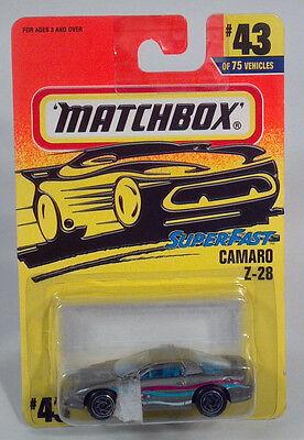 DD Matchbox MB 43 Camaro Z28 1993 1994 1995 1996 1997 1998 1999 2000 2001 2002