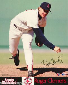 SMALL-POSTER-MLB-BASEBALL-ROGER-CLEMENS-BOSTON-RED-SOX-FREE-SHIP-6583-RP84-M