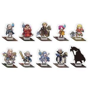 Fire-Emblem-Heroes-mini-acrylic-Figure-Collection-vol-8-BOX-10-full-set-JAPAN