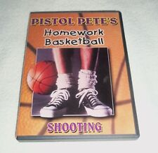 pete maravich homework basketball shooting