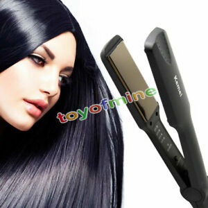 Flat-Iron-Professional-Ceramic-Tourmaline-Plate-Hair-Straightener-Styling-Tool