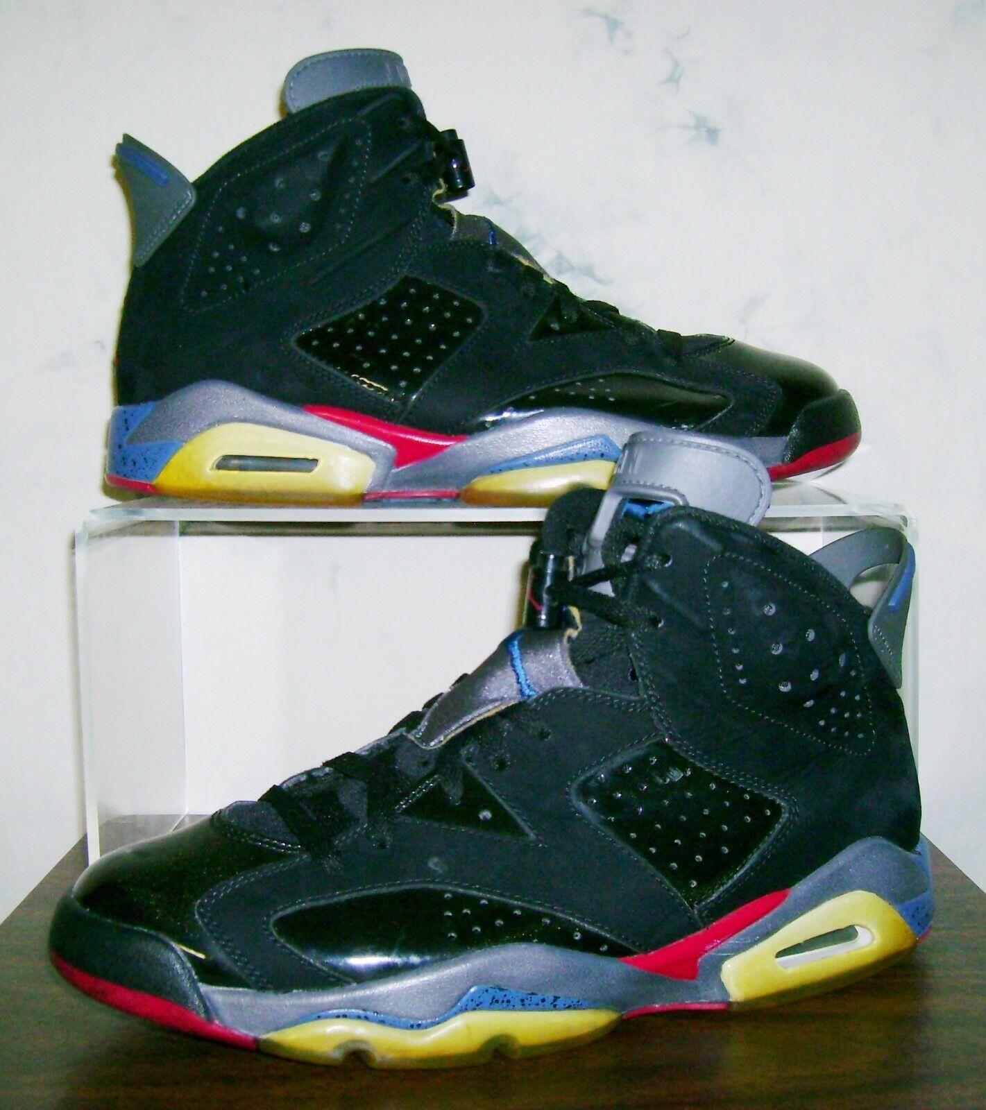 Men's NIKE AIR JORDAN VI 6 PISTONS Sz 9.5 Retro Rare Vtg shoes 9 1 2 FAST SHIP