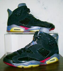 6e6bdcbaa91d88 Men s NIKE AIR JORDAN VI 6 PISTONS Sz 9.5 Retro Rare Vtg Shoes 9 1 2 ...