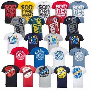 New-Sonneti-Mens-Cotton-Designer-casual-T-Shirt-top-S-XXL-various-designs