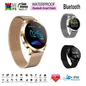 Waterproof-Smart-Watch-Heart-Rate-Bracelet-Women-Gift-For-iPhone-Android-Samsung