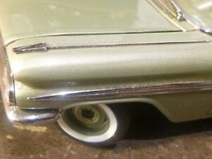 wcpd-1-24-1959-Chevy-front-fender-top-chrome-spears-set-of-two-pcs