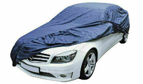 Sakura Durable Full Premium Blue Car Cover Large Size