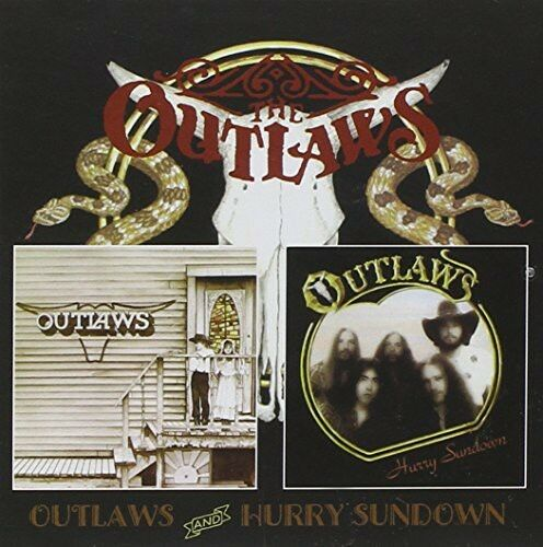 The Outlaws - Outlaws / Hurry Sundown [New CD] UK - Import