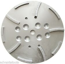 10 Concrete Grinding Head For Edco Blastrac Grinders 10 Seg 5060 Grit