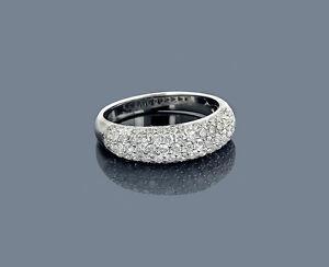 Echtschmuck-Ring-Diamanten-14-K-585er-Weissgold-1-30-Karat-Top-Wesselton-VS