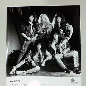 WARLOCK-german-1987-Vertigo-16x21-PRESSE-Foto-Photo-PICTURE-Promo-Set-Card