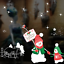 Xmas Christmas Angel Santa Claus Window Stickers Ornament Home Party Decoration