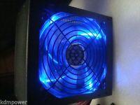 1000w 1050w 1075w Blue Led Fan Silent Atx Power Supply Sata Pci-e