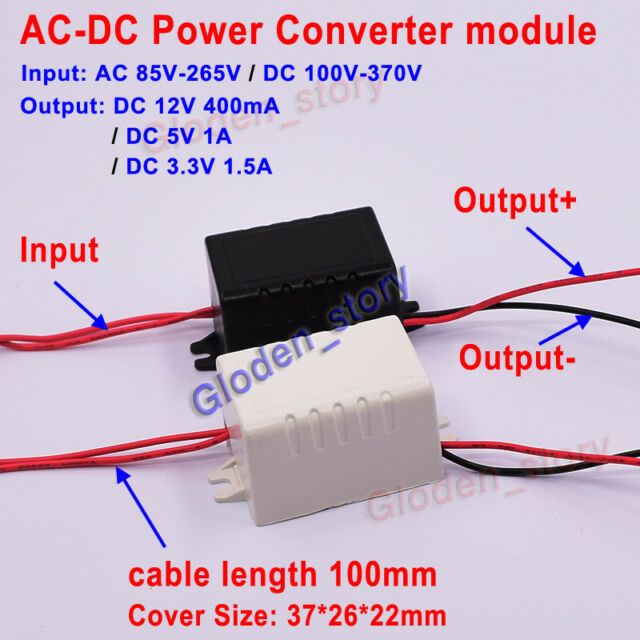 AC-DC Buck Converter Power Supply Module Adapter 110V 220V 230V to 3.3V 5V 12V